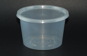 disposable round container 20oz