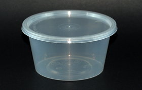 disposable round container 16oz