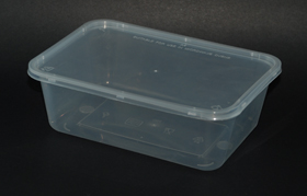 disposable rectangle container 500ml